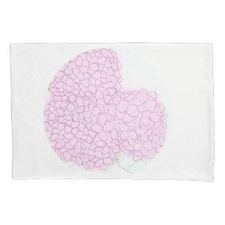 Bright Pink Hydrangea Pillow Slip Pillowcase