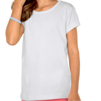 Bright Pink Lips on Black and White Zigzag Tee Shirt