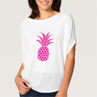 Bright Pink Pineapple Flowy Shirt