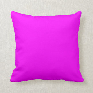 Bright pink plain beautiful luxury cushion pillow