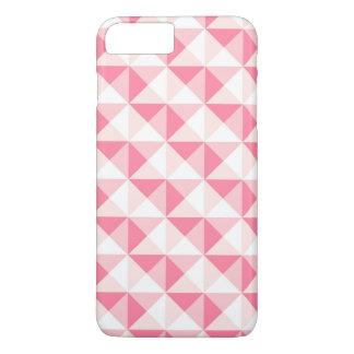 Bright Pink Triangle Geometric iPhone 7 Case