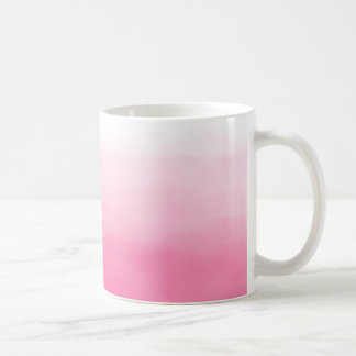 Bright Pink Watercolor Ombre Mug