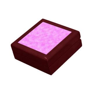 Bright Pinkish Purple Cloudy Pattern Design Gift Box