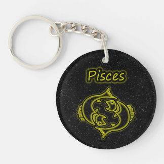 Bright Pisces Key Ring