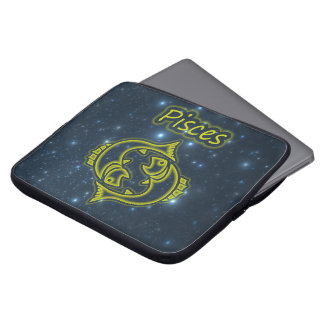 Bright Pisces Laptop Sleeve