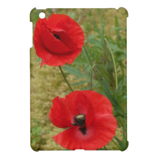 Bright poppies iPad mini cover