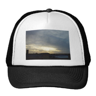 Bright Pre-Sunset Sky Glow Over Burns Beach At Wes Trucker Hat
