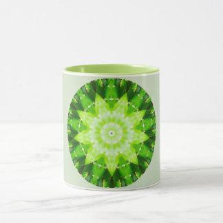 Bright Prickly Succulent Fractal Mug