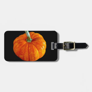 Bright Pumpkin Luggage Tag