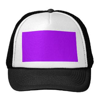 bright purple do it yourself design template trucker hat
