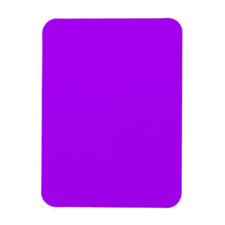 bright purple do it yourself design template magnet