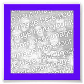 Bright Purple Frame Photo