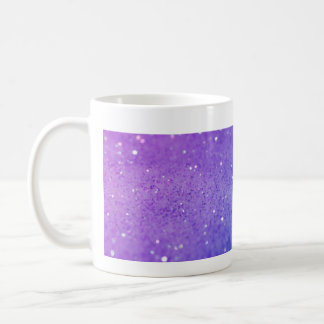 Bright Purple Glitter - Shiny, Sparkles Mug