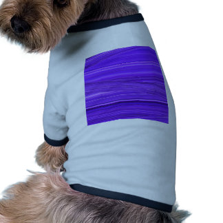 Bright Purple Violet Lines Design Digital Art Ringer Dog Shirt