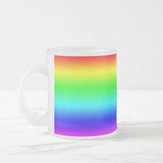 Bright Rainbow Design Mugs
