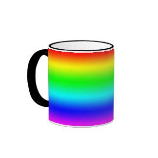 Bright Rainbow Design Coffee Mug