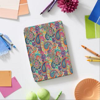 Bright Rainbow Paisley iPad Pro Cover