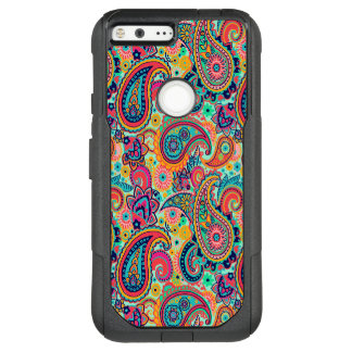 Bright Rainbow Paisley OtterBox Commuter Google Pixel XL Case