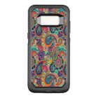 Bright Rainbow Paisley OtterBox Commuter Samsung Galaxy S8 Case
