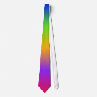 Bright Rainbow Tie