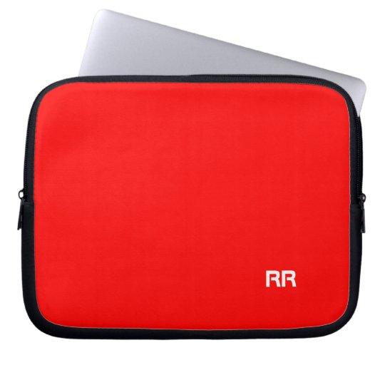 Bright Red Custom Laptop Bag