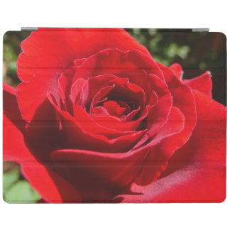 Bright Red Rose Flower Beautiful Floral iPad Cover