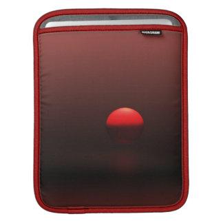 Bright Red Sunset iPad Sleeve