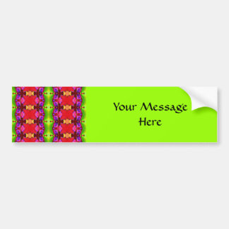Bright Ribbons Bumper Sticker