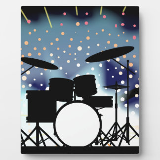 Bright Rock Band Stage Display Plaques