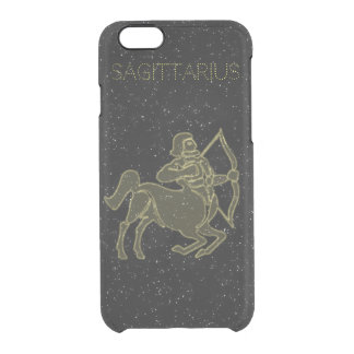 Bright Sagittarius Clear iPhone 6/6S Case