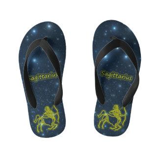 Bright Sagittarius Kid's Thongs