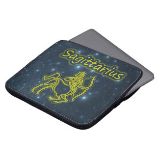 Bright Sagittarius Laptop Sleeve