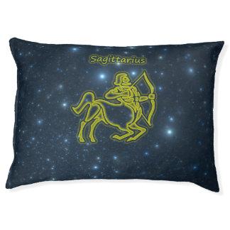 Bright Sagittarius Pet Bed