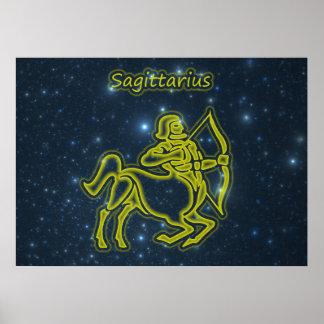 Bright Sagittarius Poster