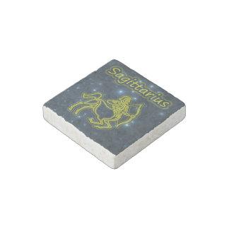 Bright Sagittarius Stone Magnet