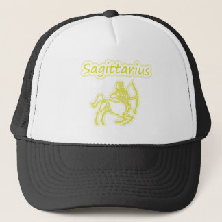 Bright Sagittarius Trucker Hat