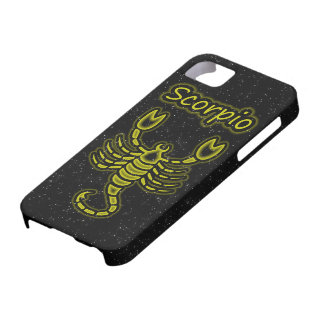 Bright Scorpio Barely There iPhone 5 Case