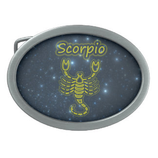Bright Scorpio Belt Buckles