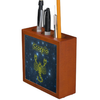 Bright Scorpio Desk Organiser