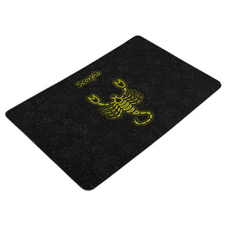 Bright Scorpio Floor Mat