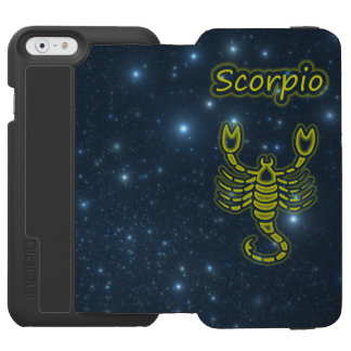 Bright Scorpio Incipio Watson™ iPhone 6 Wallet Case