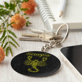 Bright Scorpio Key Ring