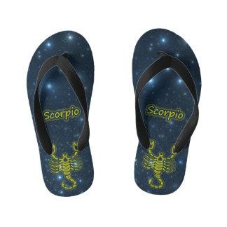 Bright Scorpio Kid's Thongs