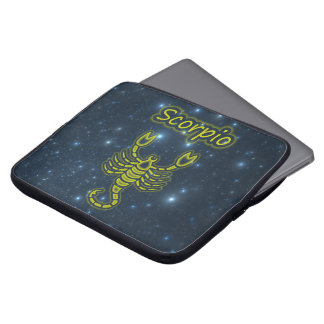 Bright Scorpio Laptop Sleeve