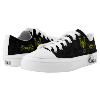Bright Scorpio Low Tops