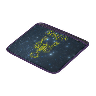 Bright Scorpio MacBook Sleeve