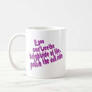 Bright  Side Basic White Mug
