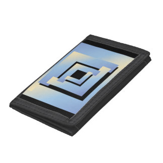 bright sky colors nb tri-fold wallet
