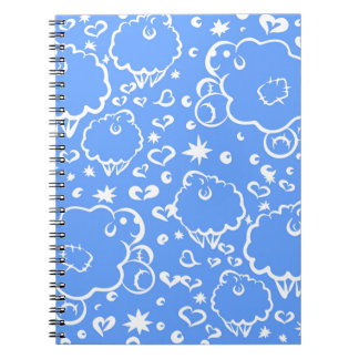 Bright sky sheep dream notebook
