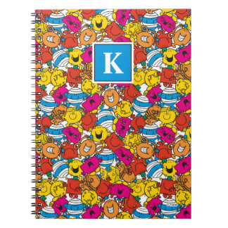 Bright Smiling Faces | Monogram Notebooks